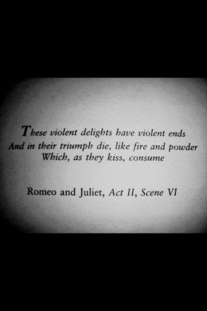 Fate and destiny quotes in Romeo and Juliet?