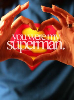 You Are My Superman Youre My Superman Ang mga