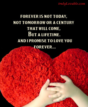 Promise to Love You Forever