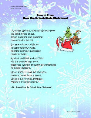 The Grinch Who Stole Christmas Quotes
