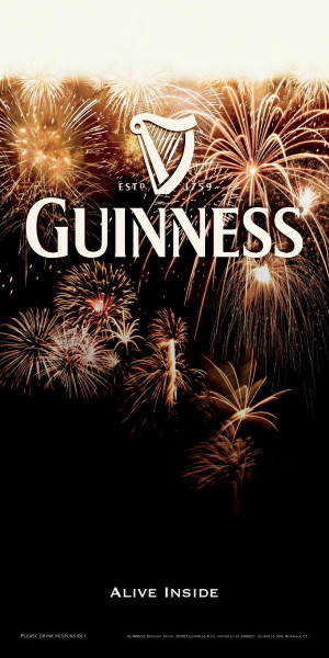 Beer Quotes Poster Guinness Beer Quot Fireworks Quot