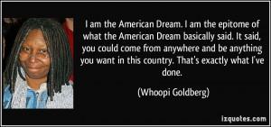 American Dream quote #1
