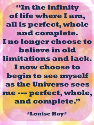 Affirmations Daily Affirmations From Louise Hay