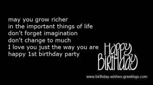 first birthday daughter poems
