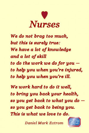 Nurses: National Nurses Week is May 6-12