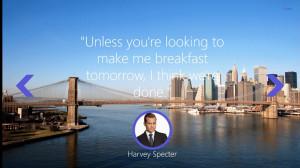 Keen Quotes: Harvey Specter screen shot 1