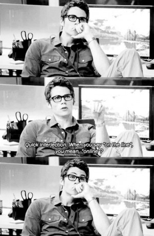 Go Back > Gallery For > Dylan Obrien The Internship Quotes