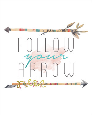 ... February for some New Wallpaper! In the mean time…Follow your Arrow