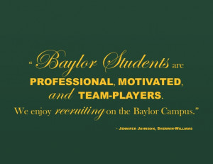 Baylor Employer Quotes