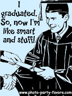 Graduation Photo Bookmarks...