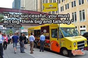 to be successful you must act big think big and talk big aristotle