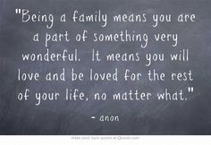 wedding that blends families with children more families quotes quotes ...