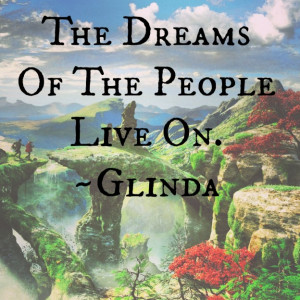 The Dreams Of The People Live On .