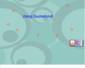 Punctuation- Quotations Downloads 4,607 Recommended 0
