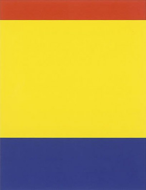 Titled: Red, Yellow, Blue by artist Ellsworth Kelly. Gotta love the ...