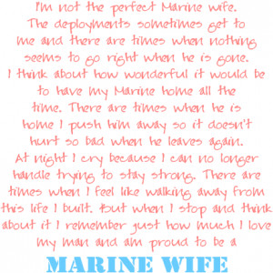 Marine Wife Quote