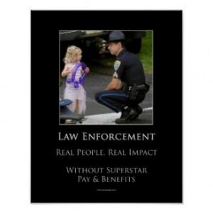 Law Enforcement Poster