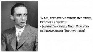 More of quotes gallery for Joseph Goebbels's quotes
