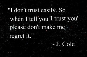 ... do love each other when they are having issues trusting each other