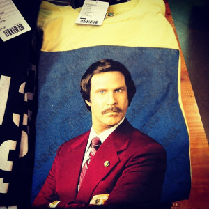 An Anchorman T-Shirt from Urban Outfitters
