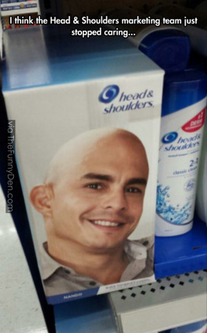 funny head shoulders bald man package funny head shoulders bald man ...