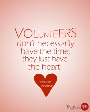 It's Volunteer Appreciation Week! Or Month!