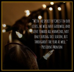 Lds Christmas Quotes Pinterest Christmas quote by lds