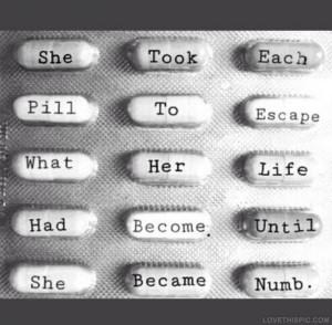 She Became Numb