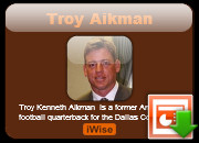 Troy Aikman Powerpoint