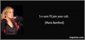 More Maria Bamford Quotes