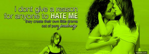 girls kissing pure jealousy quotes facebook cover