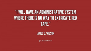 will have an administrative system where there is no way to ...
