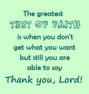 test of faith #quotes