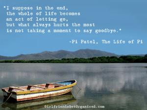Life Of Pie Quotes Quotesgram