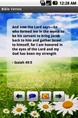 Verses from Holy Bible (Lite) - screenshot