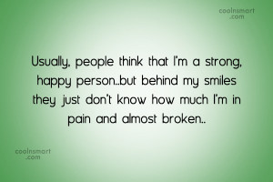 Pain Quotes and Sayings
