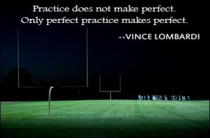 Vince Lombardi Football Quote