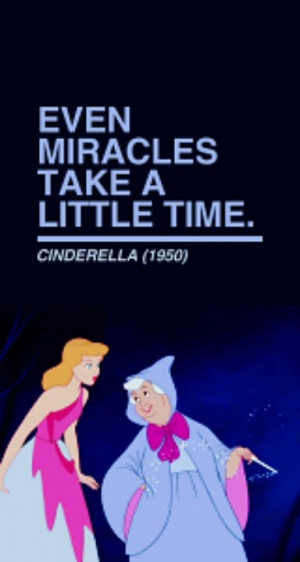 ... us and now Cinderella is her fav movie.) God knows what he is doing