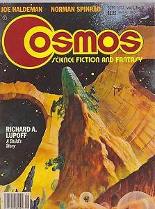 SEPT 1977 COSMOS science fiction magazine JOE HALDEMAN NORMAN SPINRAD