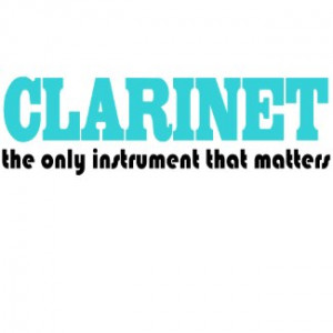 Clarinet Kids T-shirt by madconductor
