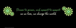 Change The World Facebook Cover