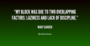 My block was due to two overlapping factors: laziness and lack of ...