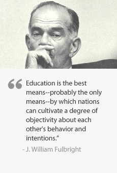 Quote from J. William Fulbright