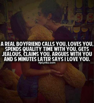 Real Boyfriend calls you, loves you, spends quality time with you ...