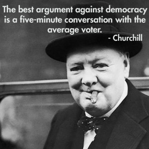 ... thought this great Winston Churchill quote needs to be remembered