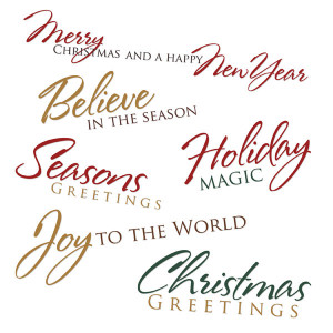 Click here to download our Christmas Sentiments Easy Print PDF (2356)