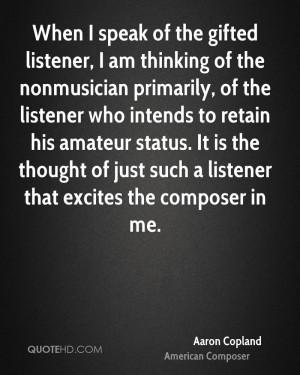 Aaron Copland Quotes