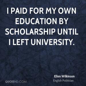 Ellen Wilkinson Quotes