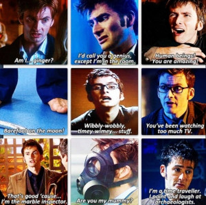 DOCTOR WHO- TENTH DOCTOR: Tenth Doctors Who Quotes, Famous Quotes ...