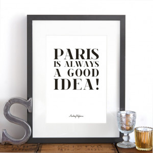 ... Audrey Hepburn! First class Eurostar, booked! A romantic quote from